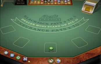 Blackjack Clásico de Oro