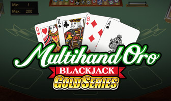 Blackjack Multimanos de Oro