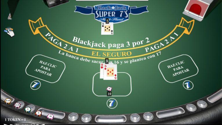 Blackjack Super 7'S Multimanos - BlackJack