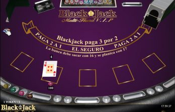 Blackjack Multimanos VIP