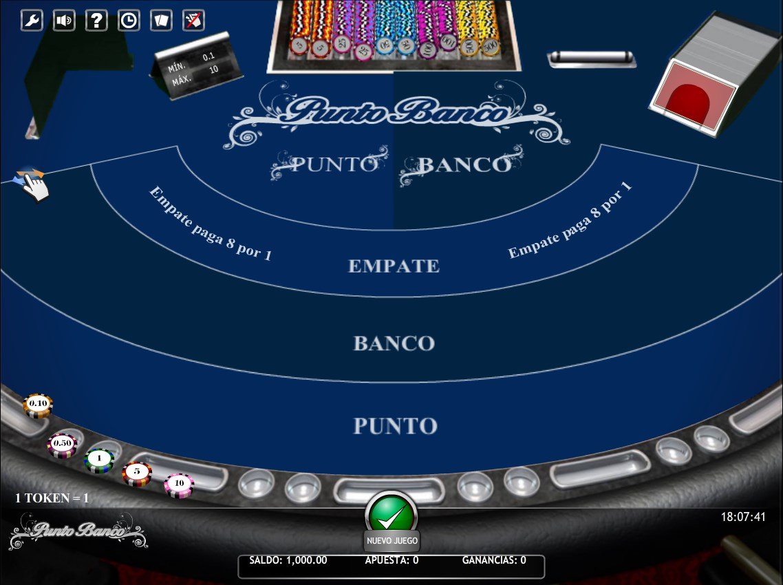 Punto banco - Blackjack