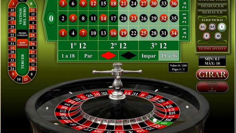 Ruleta 3D -Roulette