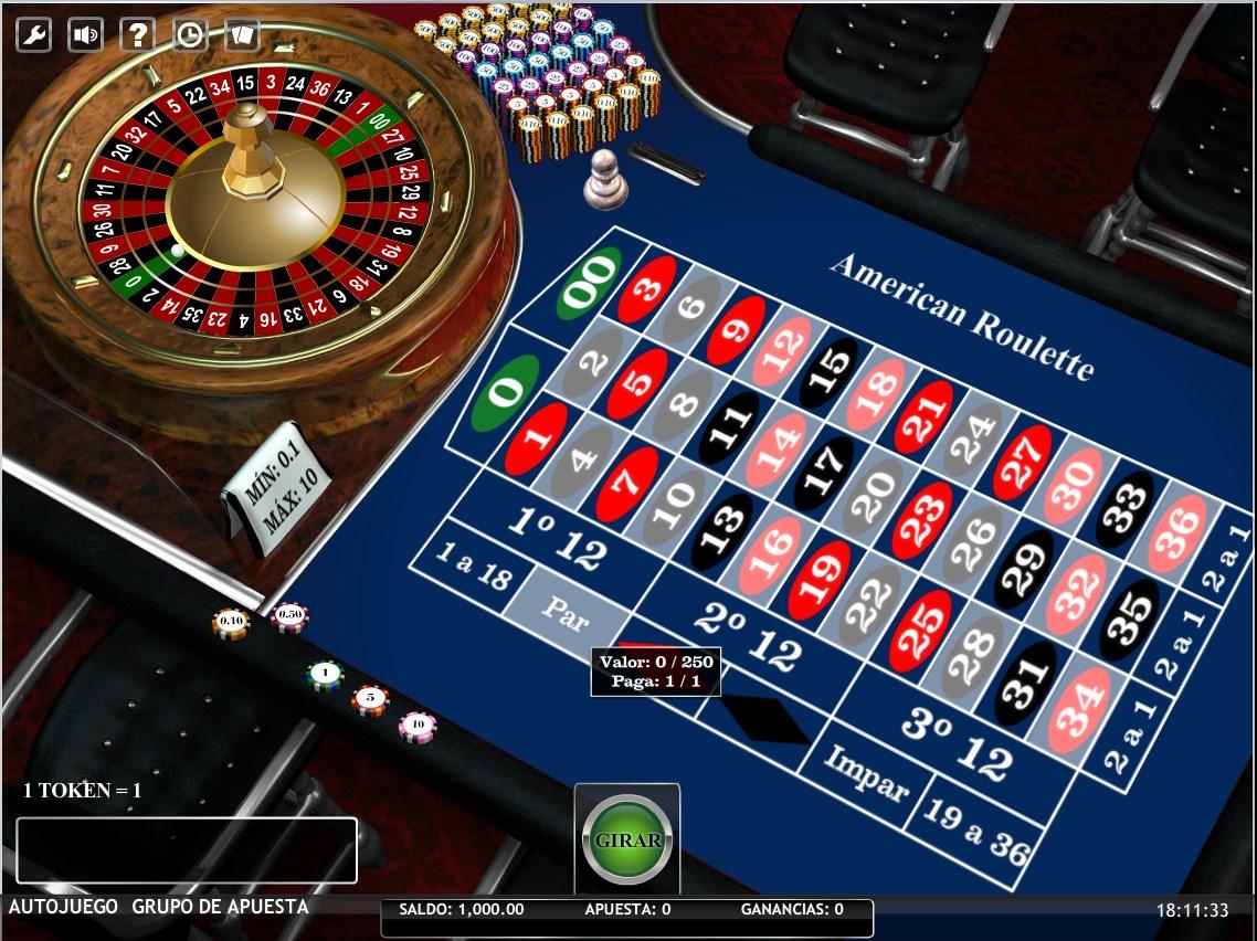 Ruleta Americana - Roulette